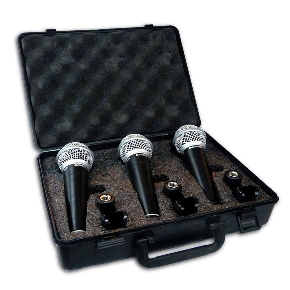 Samson R21 Microfono Dinamico pack x 3 unidades