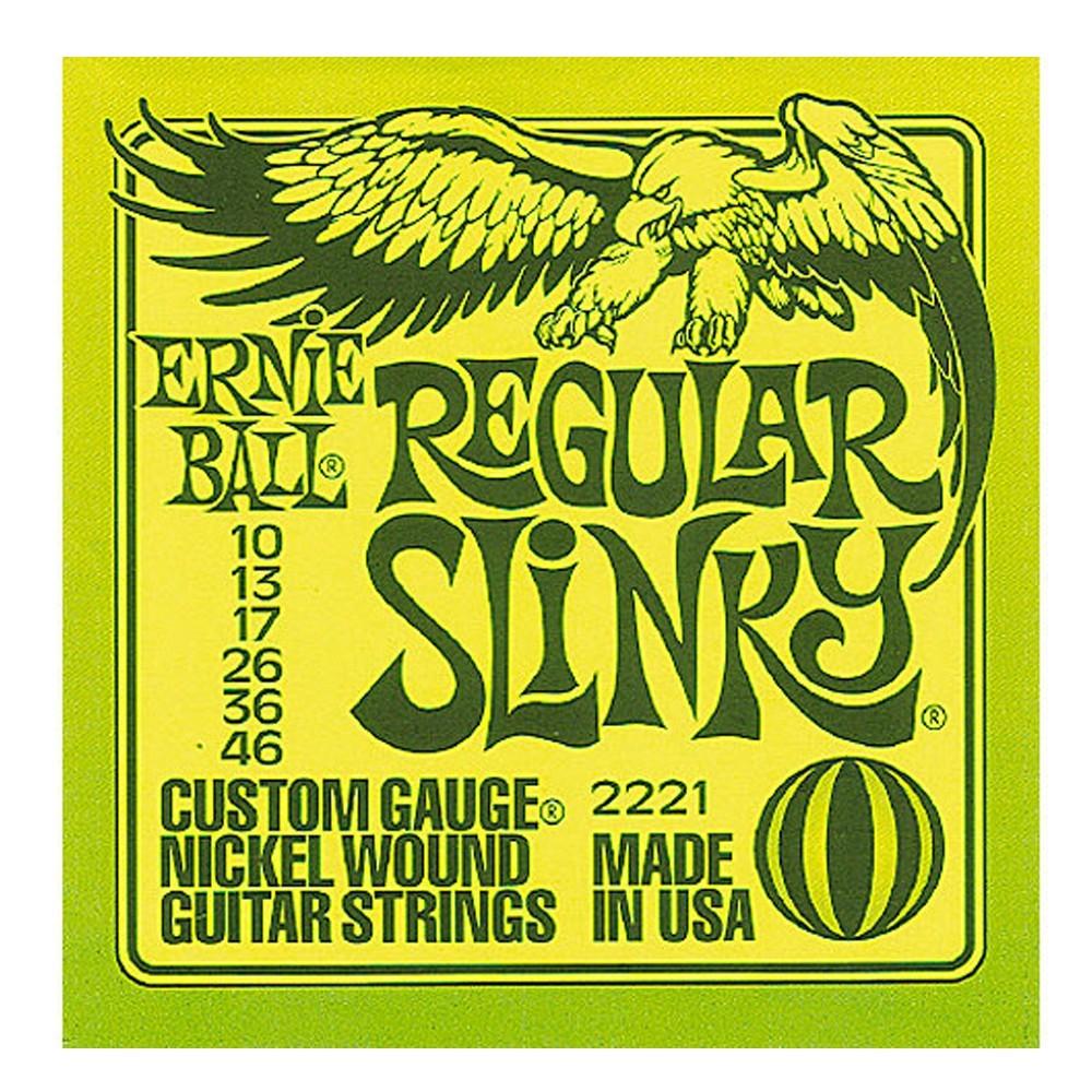 Encordado p/Guit Eléctrica Regular Slinky 010-046