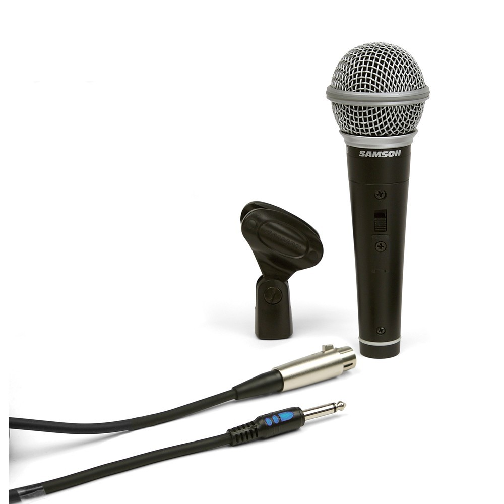 Samson PREMIUM-R21S Microfono Dinamico para Voces