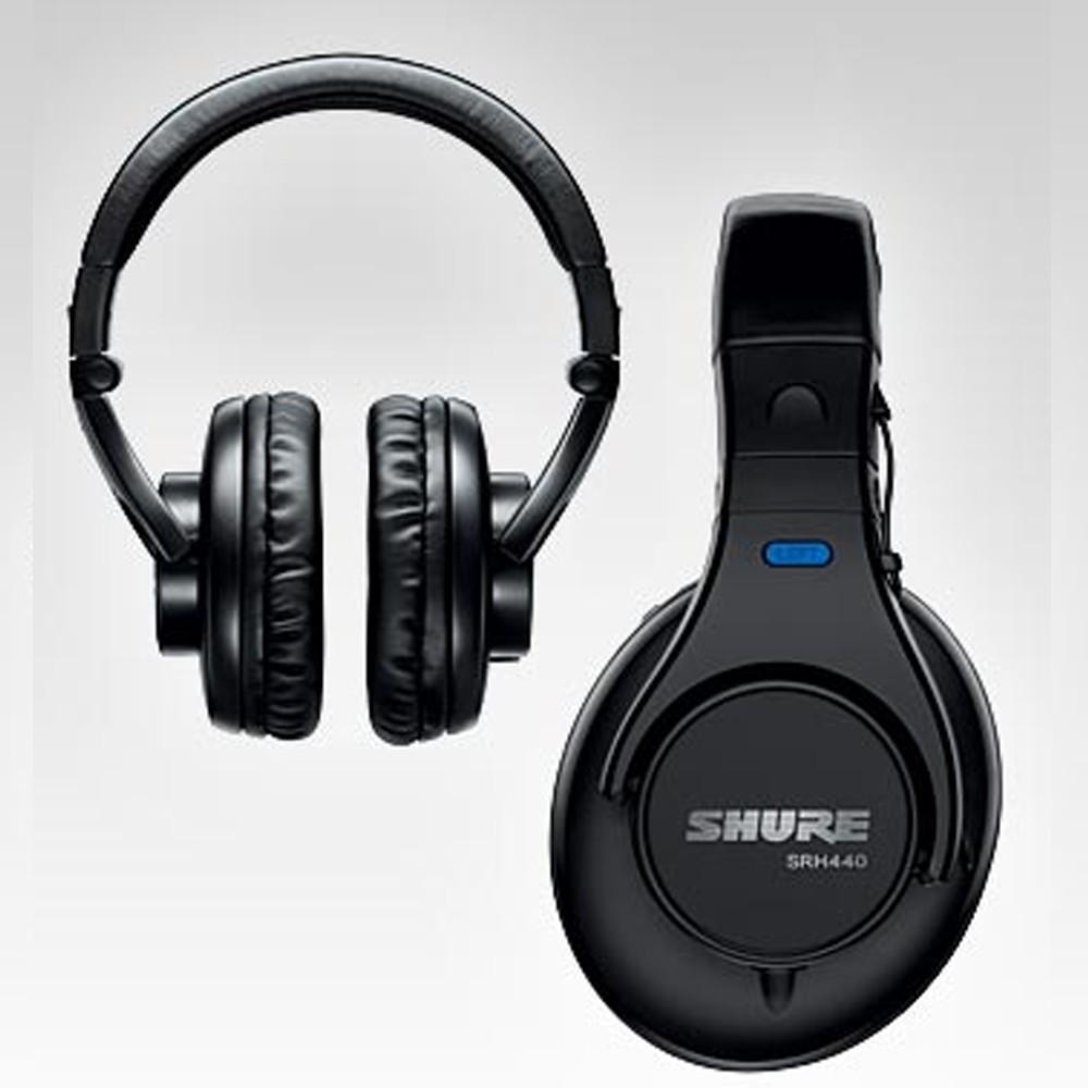 SHURE SRH440 Auricular Profesional para Estudio