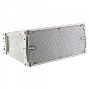 Bafle Activo Line Array DVA T4 White 3 vías, 8'RCF +6,5'+ 2 x 1'