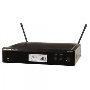 Receptor para sistema BLX BLAX4R para montaje en rack (662.15 ? 685.87 MHz)