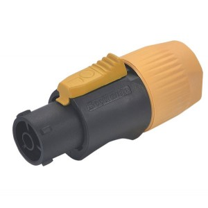 Conector powercon 3 contactos hembra p/ cable (IP65)
