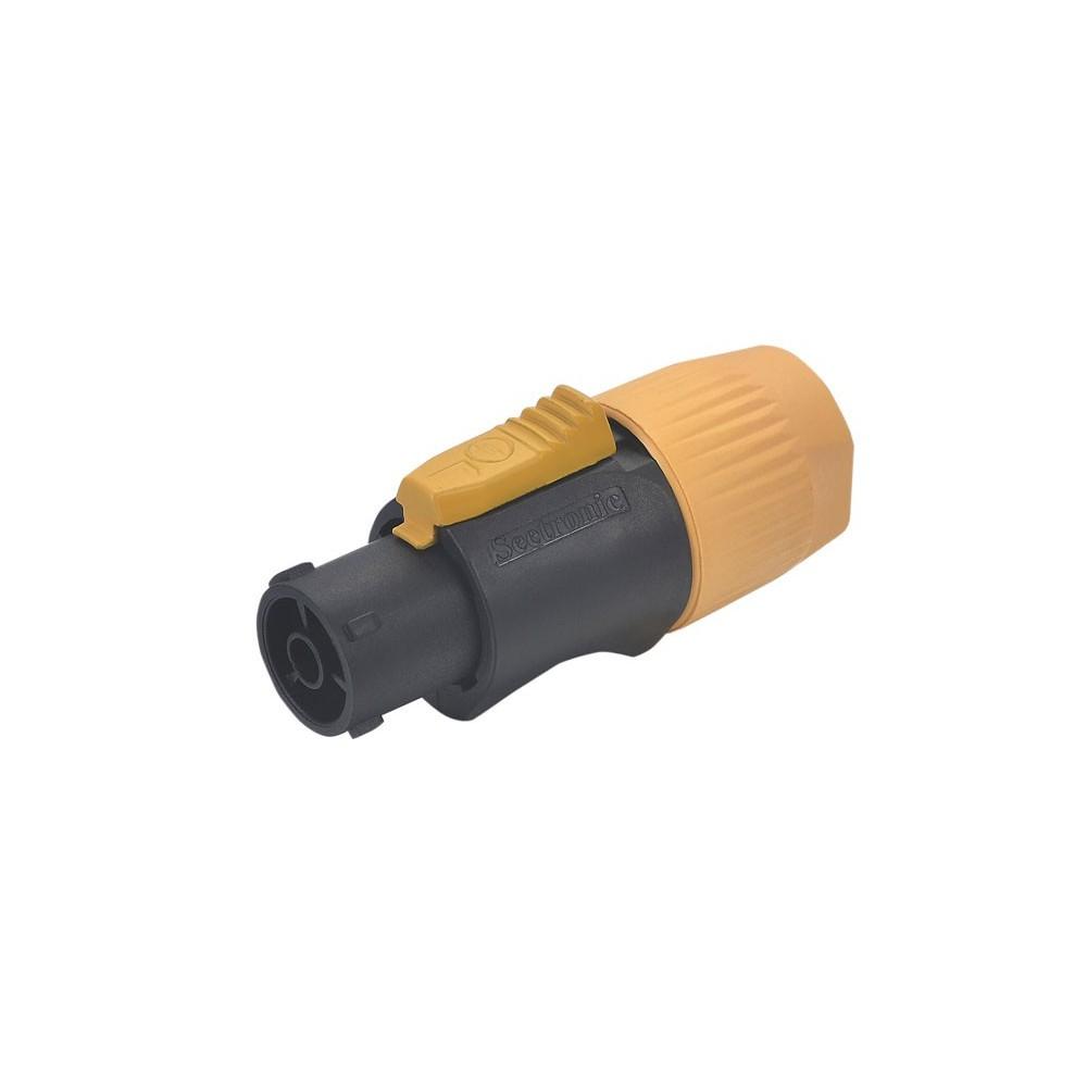 Conector powercon 3 contactos hembra p/ cable (IP65)