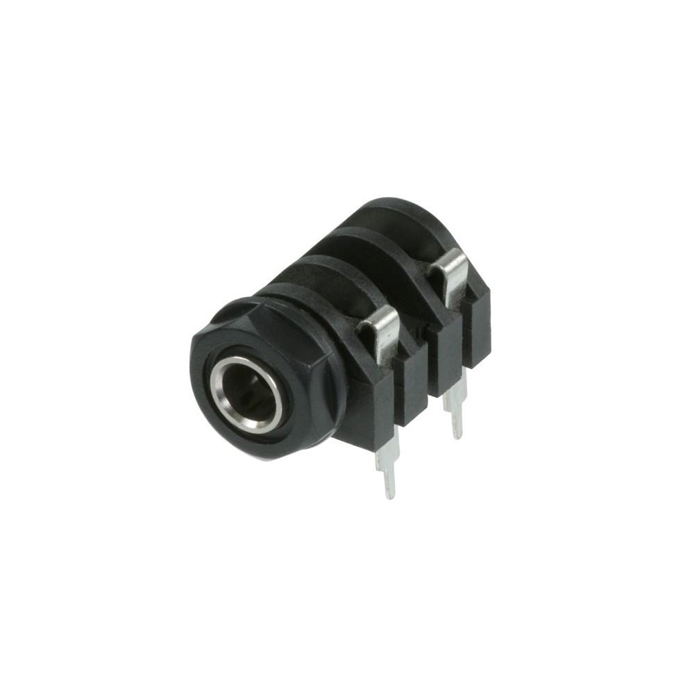 Seetronic St213 - Jack Plug Mono 1/4 Plastico, P/ Plaqueta
