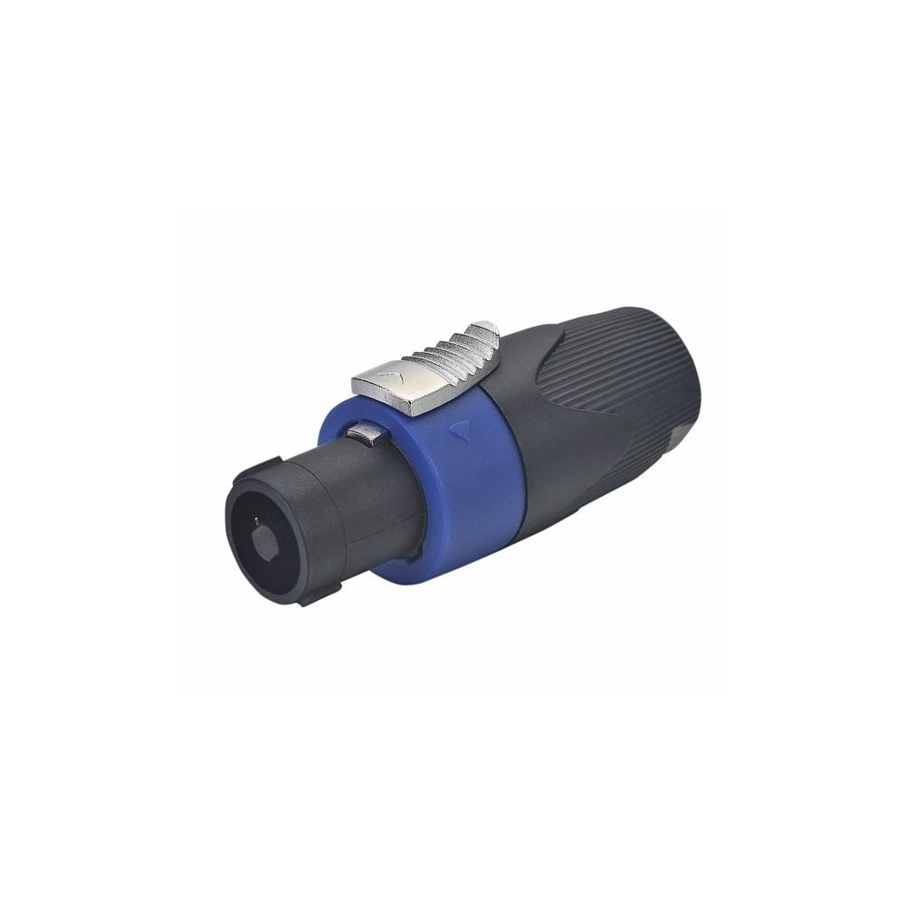 Conector Speakon 4 contactos hembra p/ cable