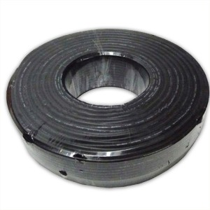 Cable balanceado para microfono XLR o DMX, 6mm vaina negra (Nacional)