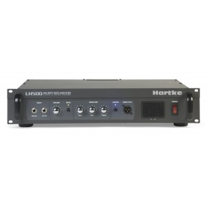 Hartke LH500 cabezal para bajo valvular 500 watts.