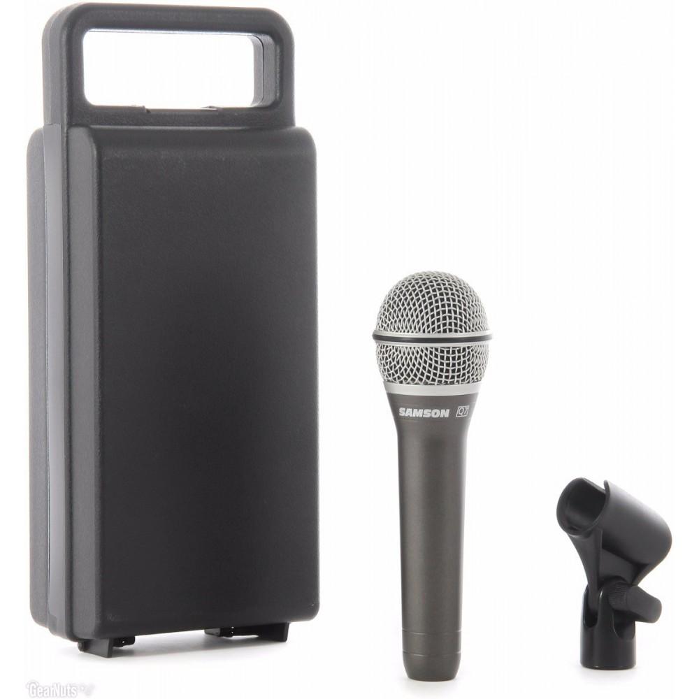 Samson Q7 Microfono Dinámico Supercardiode para Voces