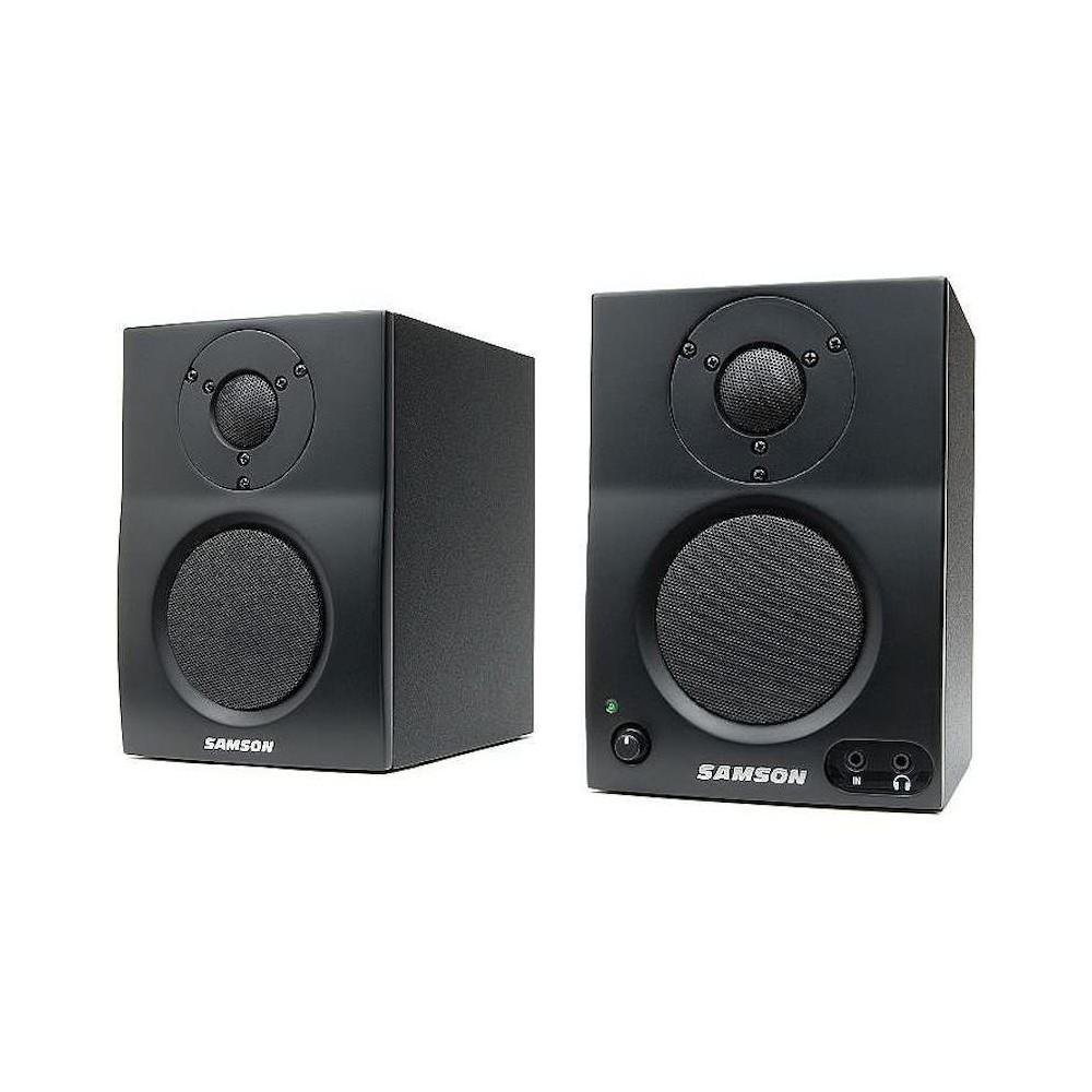 Monitores De Estudio Con Bluetooth, Samson MBT3 P/Multimedia/Game/TV