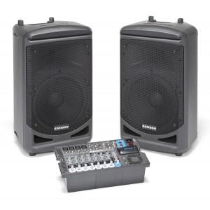 sistema sonido portatil 1000 wats con bluetooth Samson XP1000B