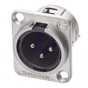 Ficha Canon Xlr Para Cable (Macho) Seetronic