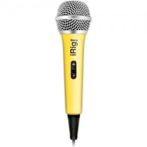 Ik Multimedia Irig voice - Microfono De Mano P/ Iphone O Ipad
