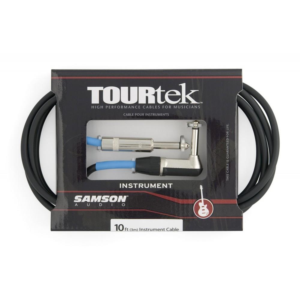Cable Plug para instrumento (recto- angular) Samson TIL20 6.6mts. Neutrik.
