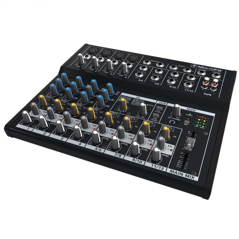 Mixer Mackie Mix12FX