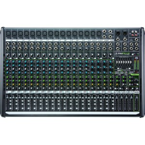 Mixer 22 Mackie ProFX22v2 - 16 XLR (c/Phantom) + 4 ST C/RCA, USB y S/Auriculares