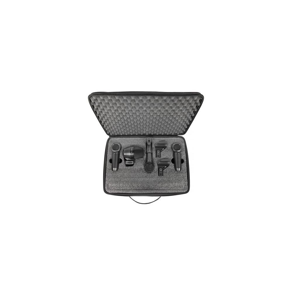 Shure  PGASTUDIOKIT4 - Set de Microfonos para Bateria