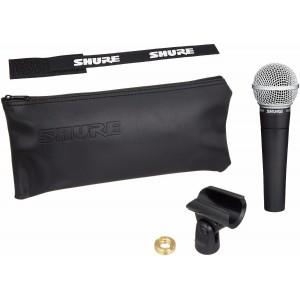 Shure SM58-LC Microfono Dinámico Vocal Cardioide para Voces