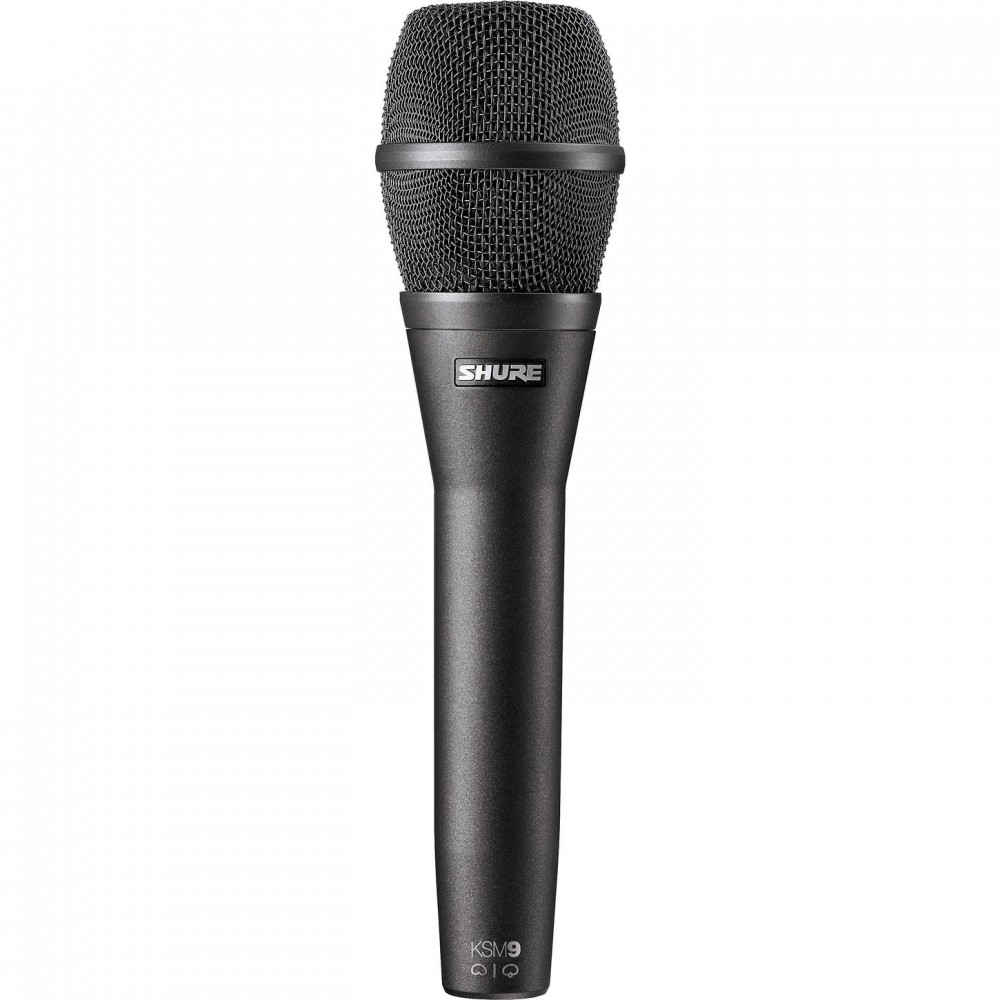 Shure KSM9/CG Micrófono Condenser Vocal con Seleccion de Patrones