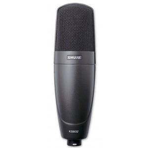 Shure KSM32/CG Micrófono Condensador Cardioide, conDiafragma Grande
