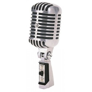 Shure 55SH SeriesII Microfono Dinamico Cardiode Vintage con Swicht