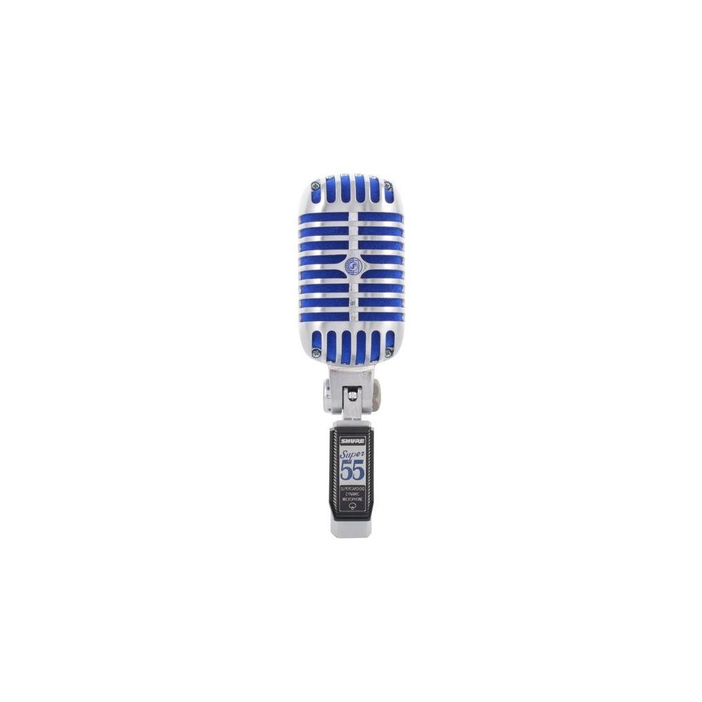 Shure Super55 Micrófono Dinámico Supercardiode Legendario
