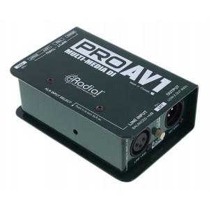 Radial PROAV1 Caja Directa Pasiva
