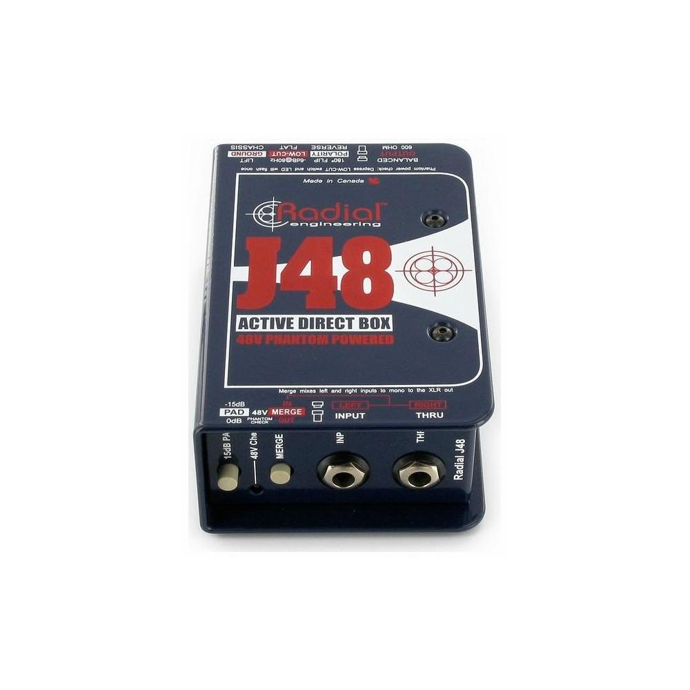 Radial J48 Caja Directa Activa